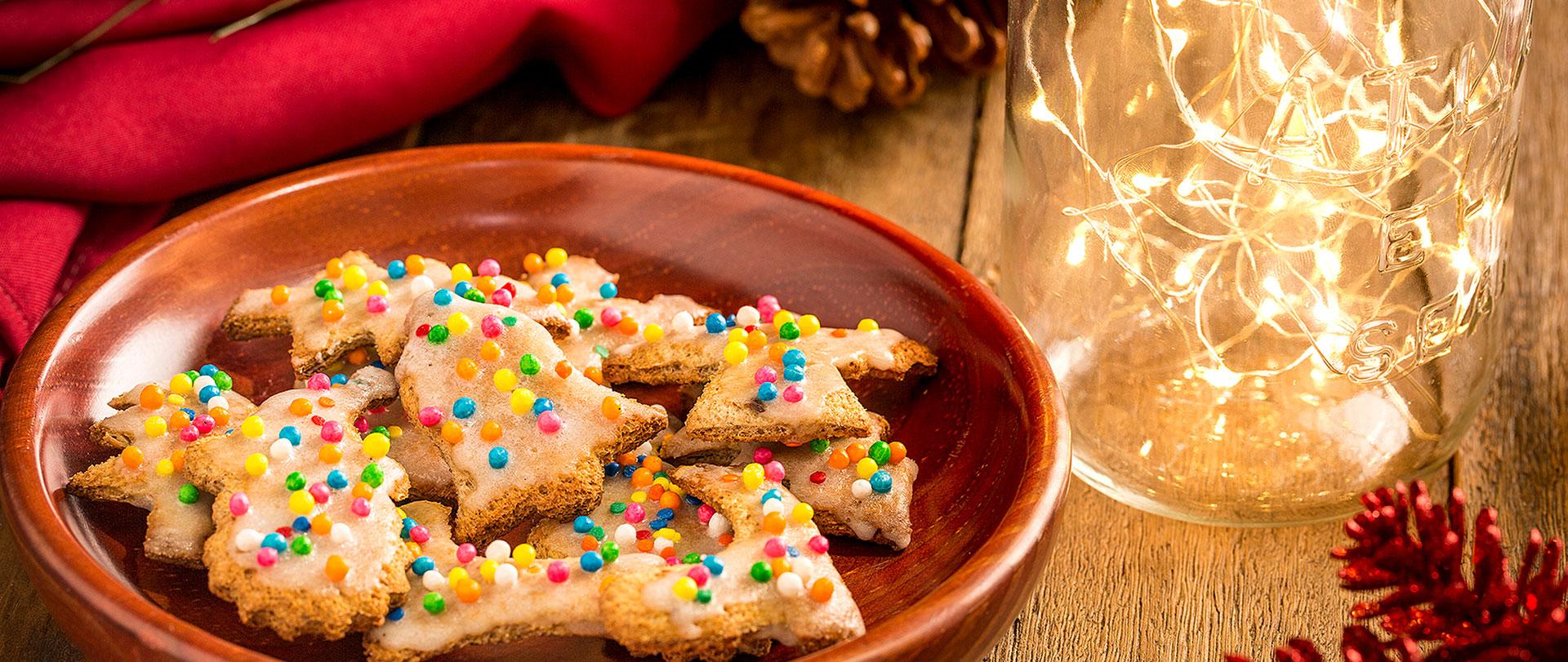 Biscoitos natalinos com especiarias