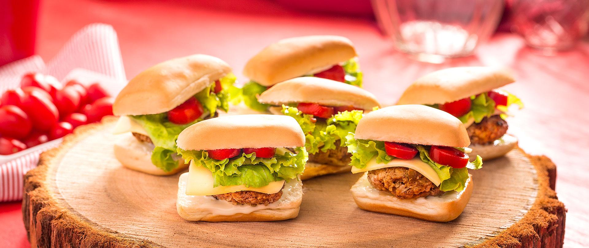 Hambúrguer de Nutrellinha