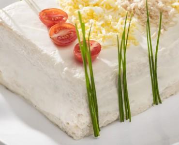 Torta fria agridoce