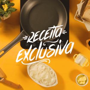 Torradinha com relish de cebola e gorgonzola