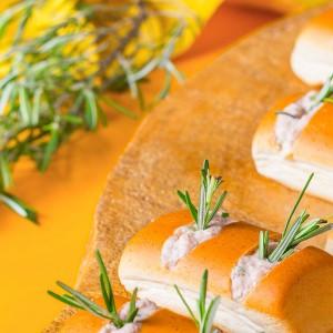 Nutrellinhas com pasta de atum