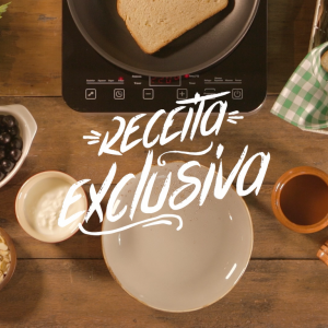 Toast com jabuticaba